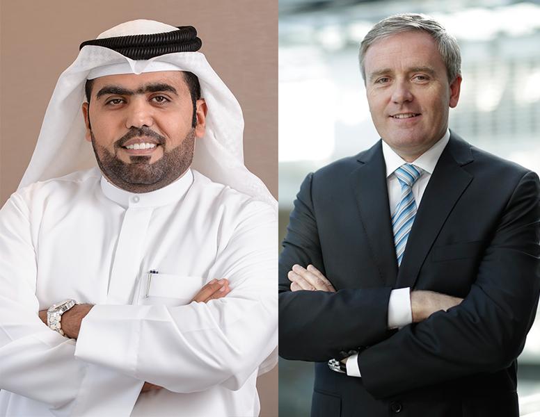 Raed Al Nuaimi - DPR and Iain Andrew - dnata